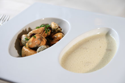 Mussel bisque